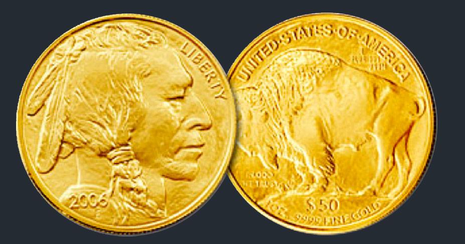 American Buffalo Gold Bullion Coin Robert R Johnson