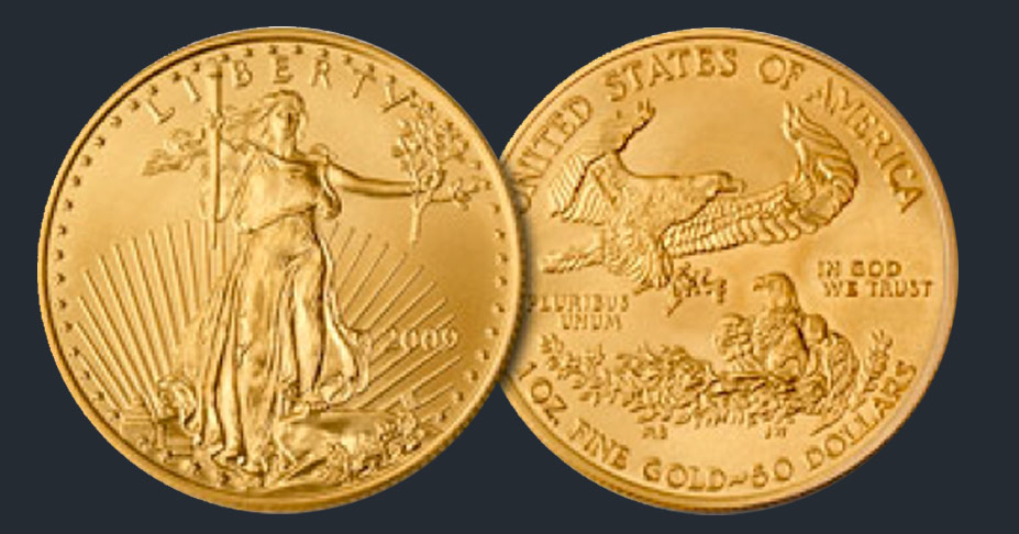 American Gold Eagle Coins Robert R Johnson